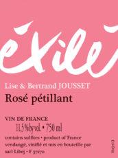 Éxilé Rosé Pét-Nat