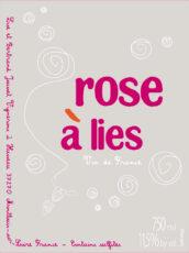 """Rose à lies"" Pét-Nat"