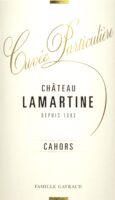 """Cahors """"Cuvee Particuliere"""""""